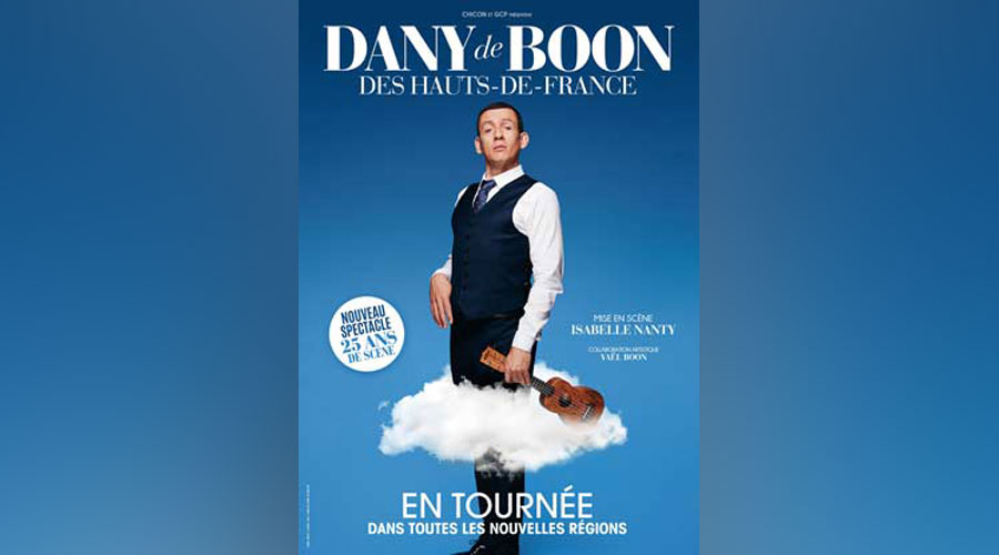 hotel nantes spectacle dany boon